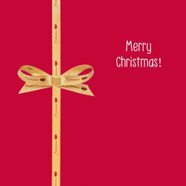 Joulukortti Merry Christmas