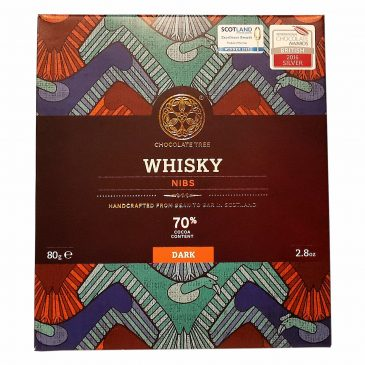 Whisky nibs 70% Chocolate Tree 80g