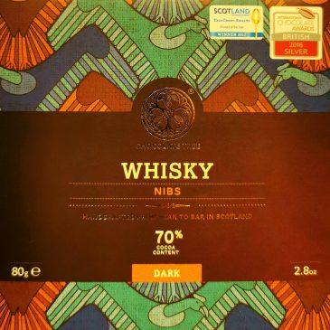 Whisky nibs 70% Chocolate Tree 80g