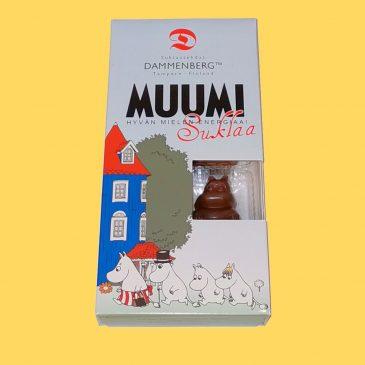 Muumi maitosuklaakuviot 8kpl