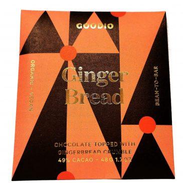 Raakasuklaa Gingerbread luomu 48g