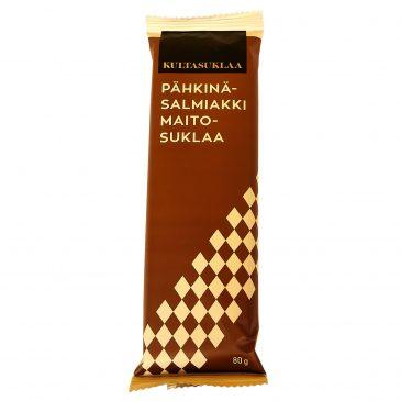 Pähkinä-Salmiakki maitosuklaa 80g