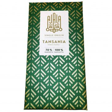 Tansania single origin tummasuklaa 70% 45g