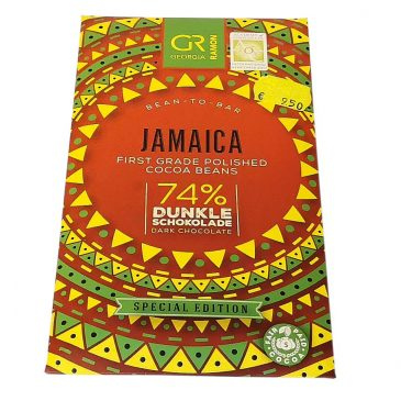 Jamaica Single Origin 74% tummasuklaa 50g