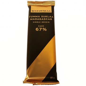 Madagascar Single Origin tummasuklaa 67% 80g