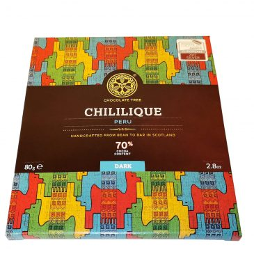 Peru Chililique Single Origin tummasuklaa 70% 80g