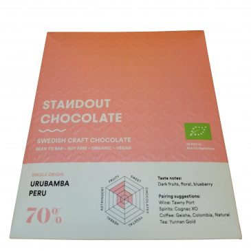 Peru single origin tummasuklaa 70% 50g