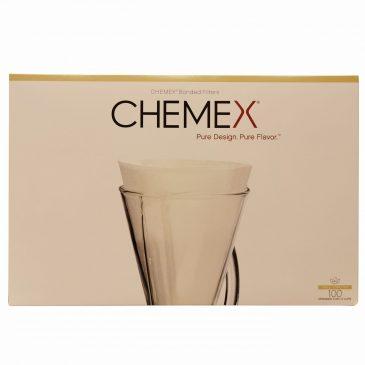 Chemex suodatinpaperi puoliympyrä 100kpl