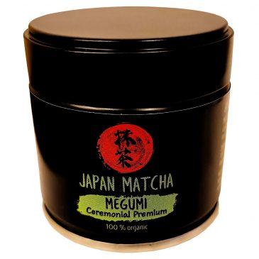Japan Matcha Megumi ceremonial premium Luomu 30g